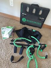 BODYBOSS Home Gym Total Workout System (Green Bands) Fitness System