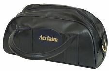 Acclaim Cwmbran traditionnel bol de deux poignées sac bleu marine cuir zip top look