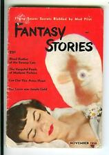 FANTASY STORIES #2, 11/50, rare US horror UFO occult digest size mag