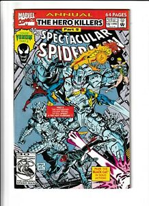 Spectacular Spider-man Annual #12 (1992 Marve) Venom solo story. NEAR MINT - 9.2