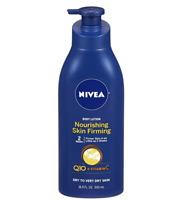 NIVEA Nourishing Skin Firming Body Lotion w/ Q10 and Vitamin C 16.9 Fl. Oz