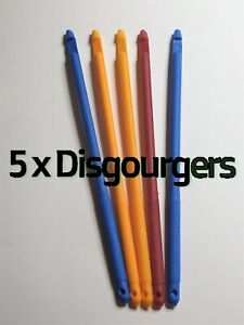 NEW 3 x Metal Disgourgers assorted