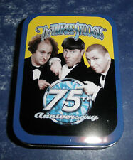 Vandor Keepsake Tin-Three Stooges 75th Anniversary- #68181- New-  RETIRED