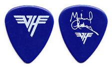 Van Halen Michael Anthony Signature Dark Blue Guitar Pick - 1986 5150 Tour