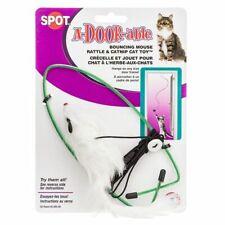 Lm Spot Spotnips A-Door-able Fur Mouse Cat Toy Fur Mouse Cat Toy