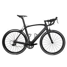 61cm AERO Carbon Road Bicycle Frame 700C Wheel Clincher Fork seatpost V brake