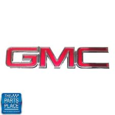 2007-13 GMC Sierra Truck Front Grille GMC Emblem Red Chrome GM # 22761795