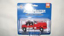 Walthers SceneMaster HO International 7600 Crew Cab Brush Fire Truck #949-11920