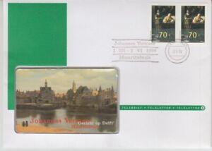 Telefonkartenbrief  Niederlande  Johannes Vermeer  1996