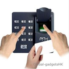 Fingerprint+RFID Card+Password Door Access Control Keypad +10 RFID Keyfobs
