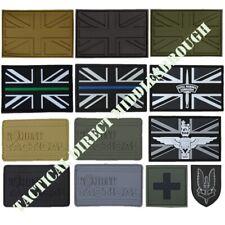 TACTICAL MORALE PATCH PVC BADGE UK ARMY UNION JACK MEDIC PARA POLICE AMBULANCE