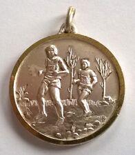 Médaille sport, course à pieds, diamètre: 32 mm, voir photos.