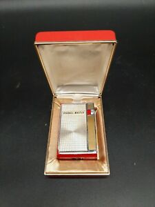 Vintage Channel Master Red Transistor Radio Micrette 7 Model 6448 / Papers ,Box