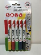 5 Textilmalstifte von Marabu