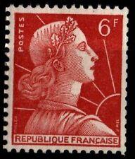 Variété Roulette / Marianne MULLER, Neufs ** = Cote 27 € / Timbre France 1009Ab