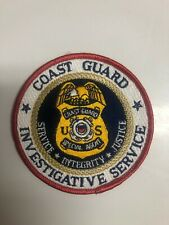 US COAST GUARD INVESTIGATIVE SERVICE POLICE PATCH
