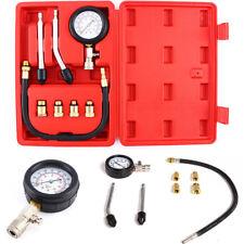 1 Set Compression Tester Kit Motor Auto Petrol  Engine Cylinder Diagnostic Tool