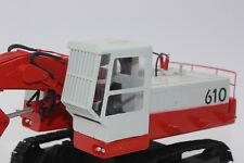 WM 50022 poclain 610 hochlöffelbagger kettenbagger 1:50 nuevo con embalaje original