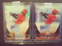 2011 Donruss Elite Didi Gregorius Mariekson Auto #/100 & #/799 - (2 card Lot)