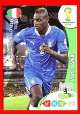 BRASIL 2014 - Adrenalyn Panini - Card Star Player - BALOTELLI - ITALIA
