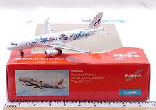 Herpa 526524: Bangkok Airways Airbus A320, Reg. HS-PPE, scale 1:500/ K 551a