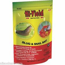 12 Pack Hi-Yield 2 1/2# Pellet Garden Lawn Slug & Snail Bait Killer 32070