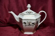 RARE Antique  EPIAG Porcelain Teapot by Springer Co Czechoslovakia Bohemia 1920s