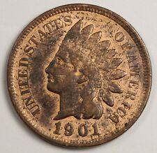 1901 Indian Head Cent.   High Grade.  124271