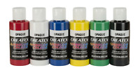 Createx Colors 5803-00 2 oz Opaque Airbrush Paint Set, 2 Ounce, Multicolor