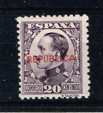EMISIONES REPUBLICANAS  ALMERÍA  Edifil 6*   (cat. 50€)