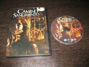 CAMINO SANGRIENTO 5 DVD ROXANE MCKEE CAMILLA ARFWEDSON DOUG BRADLEY