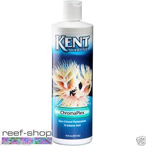 Kent ChromaPlex 16oz Liquid Phytoplankton Food for Live Coral and Invertebrates