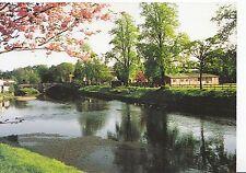 Cumbria Postcard - Appleby in Westmorland - Cherry Blossom - Town Bridge   SM25