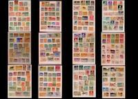 World Stamp Collection Australia India Pakistan Spain Portugal & United States