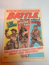 BATTLE PICTURE WEEKLY BRITISH WEEKLY IPC 6TH MARCH 1976^