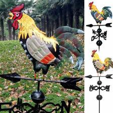 Metal Weather Vane Rooster Ornament Rooster Weathervanes Garden Patio Decor AU