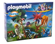 Playmobil Lost Island mit Alien und Raptor 6687 Neu & OVP