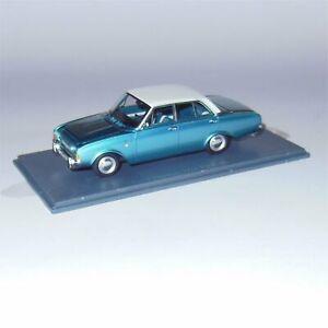 Neo Scale Models Ford Taunus 17M P3 4 Door Sedan New in Display Case #44555