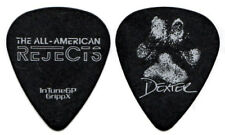 THE ALL AMERICAN REJECTS Guitar Pick 2012 Tour Dexter Nick Wheeler AAR black