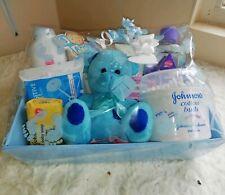 Baby boy Gift Hamper / Baby Shower / New Baby boy Gift / Nappy Cake