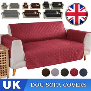 Sofa Covers Quilted Throw Washable Anti Slip Cover Couch Furniture Protector Pet