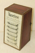 VINTAGE CHESEBROUGH VASELINE DRUG STORE COUNTER DISPLAY CABINET SIGN
