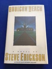 RUBICON BEACH - FIRST EDITION SIGNED BY STEVE ERICKSON