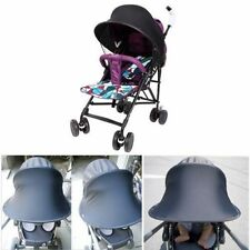 Child Kid Pushchair Stroller Pram Buggy Sun Shade Canopy Cover Universal Black