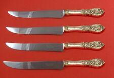 Richelieu by International Sterling Silver Steak Knife Set Texas Sized Custom