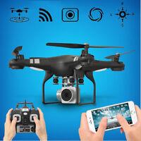 2MP HD 1080P VIDEO CAMERA MINI DRONE LED QUADCOPTER WIFI FPV QUADRICOTTERO APP