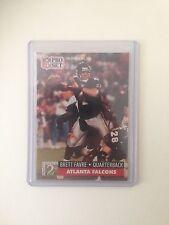 Brett Favre RC Falcons Packers 1991 Pro Set