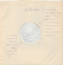 """Vintage INNER SLEEVE or SLEEVES 12"""" USE EMITEX MADE ENGLAND poly-lined thin x 1"""