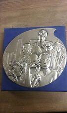 Superbe médaille bronze LARGO WINCH BD monnaie paris 2012 num 158/1000 B46