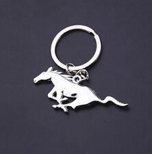 New 3D Car Logo Keyring Keychain Metal Pendant Key Holder for Mustang